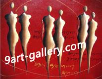 landscape oil painting (Эксклюзивная декоративная картин)