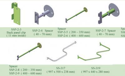 Slatwall accessories (Slatwall аксессуары)