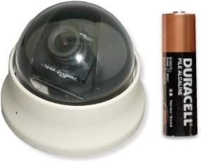 Mini Color Dome Camera with Minimum S/N Ratio of 48dB (Мини цвета купольная камера с минимальным Отношение сигнал / шум в 48dB)