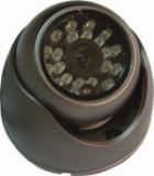 1/3-inch Sharp CCD Color IR Dome Camera with Resolution of 420TVL