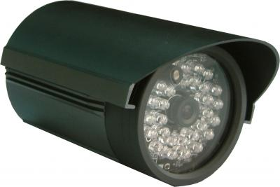 1/3  Sharp CCD, IR camera, 420 TVL,DC 12V,36 pcs LED, PROJECTION DISTANCE 25~3