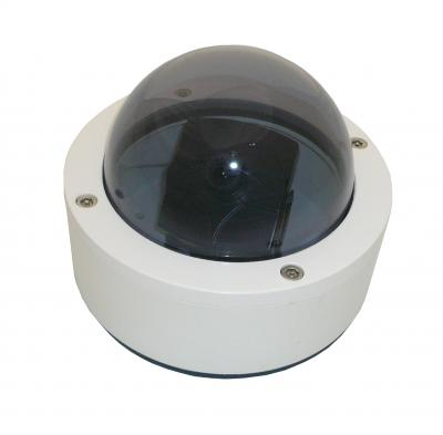 1/3  Inter-line transfer CCD VANDAL DOME CAMERA,420 TVL,12V DC, 3.6MM LENS