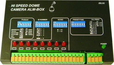 Speed-Dome-Alarm Box mit On-Box-Alarmanzeige (Speed-Dome-Alarm Box mit On-Box-Alarmanzeige)