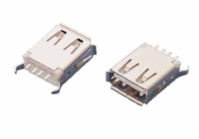 USB A/F Straight Dip Type (USB A / F Straight Dip типа)