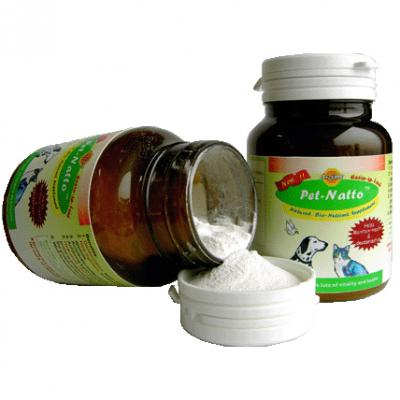 Pet-Natto--for pets ( a bio-feed of nutrient supplement ) (Pet-Натто - для домашних животных (Bio-подача питательной Supplement))