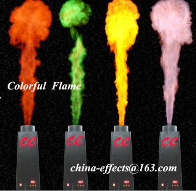 stage special colorful flame projector/machine (этап специальной красочной проектор пламя / машину)
