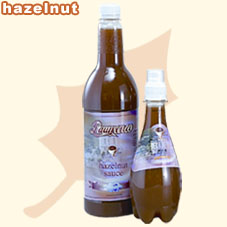 hazelnut sauce ,Tea Drinks ,juice (Haselnuss-Sauce, Tee, Saft)