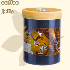 coffee jelly Royal Jelly, Honey (Kaffee-Gelee Royal Jelly, Honig)