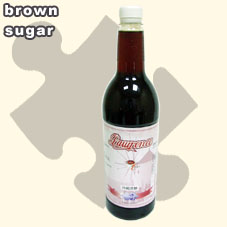 brown sugar syrup ,Tea Drinks ,juice (brauner Zucker Sirup, Tee, Saft)