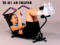 SE-125 AB-UPPER,Health,Fitness,Stature,enjoy,Body-Building,Relax,Home,Cheap ()