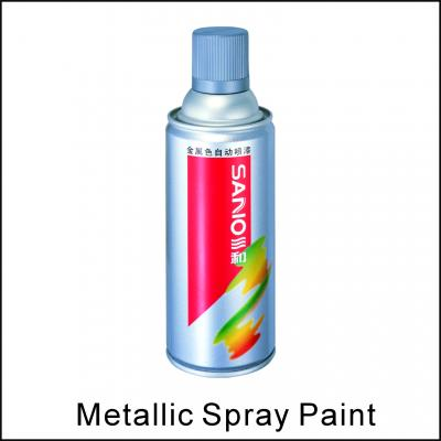 metallic spray paint (металлическая краска спрей)