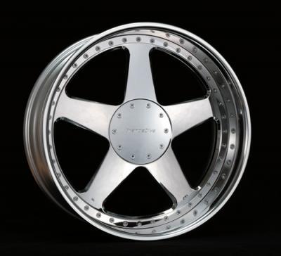 Aluminum Alloy Wheel (Forged) (Jante en alliage d`aluminium (forgée))