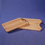 wooden cutting board set (Holzbrett setzen)