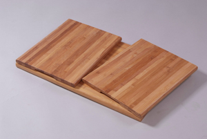 Bamboo cutting board 3pc in a set (Bambus Schneidebrett 3pc im Set)