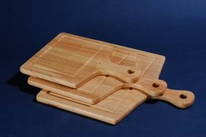 Wooden cutting board (Holzbrett)