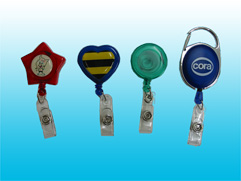Retractable badge reels (Retractable Badge Reels)