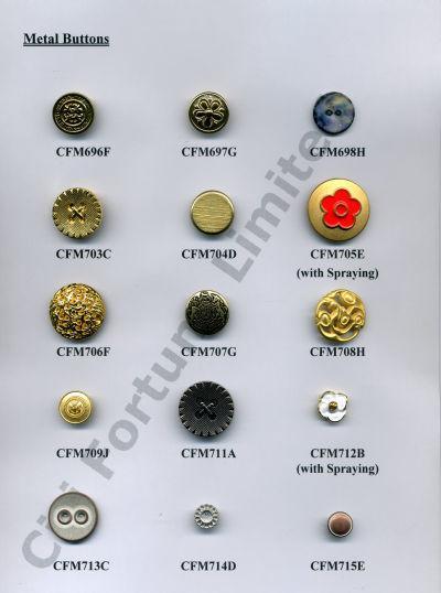 Metal Button III (Металлическая пуговица III)