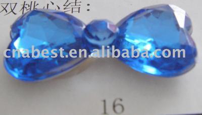 Acrylic Rhinestone - 16mm tie (Акриловые Rhinestone - 16mm галстук)