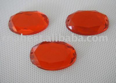 Acrylic Rhinestone - big oval (Акриловые Rhinestone - большая овальная)