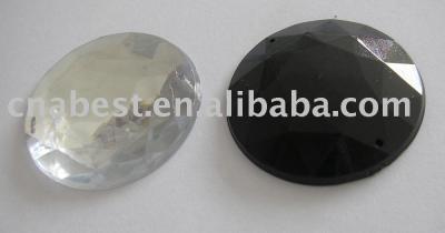 Acrylic Rhinestone - 35mm round (Акриловые Rhinestone - 35mm круглый)