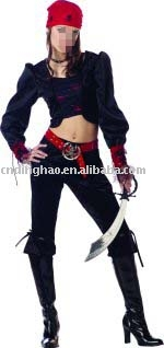 teen gothic pirate costume (teen gothic pirate costume)