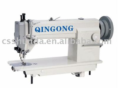 High-speed heavy duty top and bottom feed lockstitch sewing machine