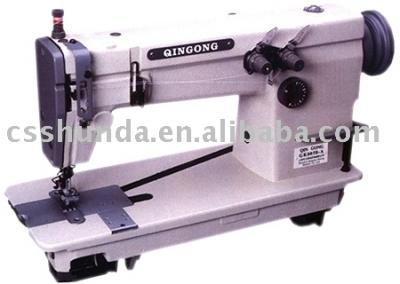 High-speed double-needle chain lockstitch sewing machine (High-Speed-Doppel-Nadel-Kette Doppelsteppstich-Nähmaschine)
