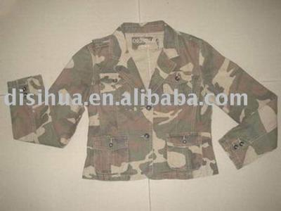 ladies camouflage jacket (Дамы камуфляж куртка)