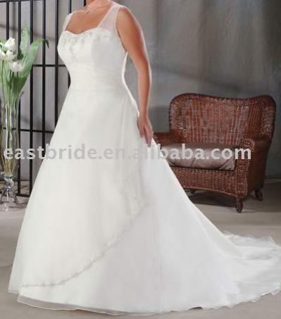 Свадебные платья большого размера.
