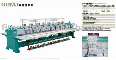 Chenille combine embroidery machine (Chenille combiner machine à broder)