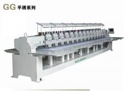 Flat embroidery machine, Computer embroidery machine