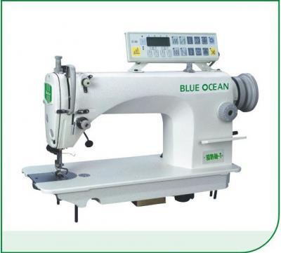 High Speed Lockstitch machine with auto-trimmer