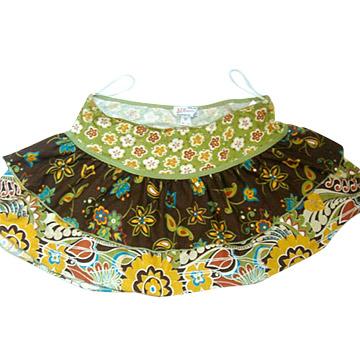 Girls `мини-юбки.  Модель.  Foshan Guangda Garment Ltd. 86353.