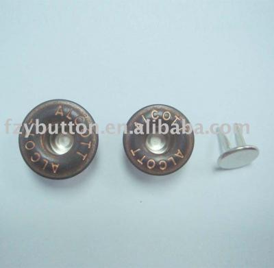 Jeans button(two-prong tack) (Джинса кнопки (две зубец тактику))