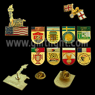 Metal Pin Badge (Знак металлический штырь)
