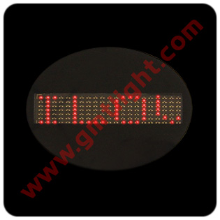 led programable badge (привели программируемых Badge)