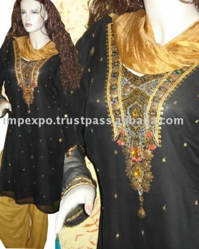 Ladies` Fashion Shalwar Kameez (Item No. Impexpoladies41) (Ladies` Fashion Shalwar Kameez (Item No. Impexpoladies41))