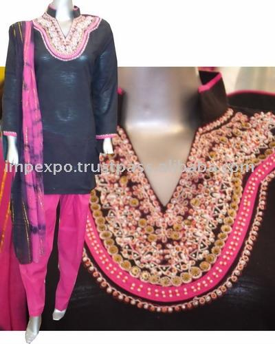 Ladies` Cotton Shalwar Kameez (Item No. Impexpocotton09) (Ladies` Cotton Shalwar Kameez (Item No. Impexpocotton09))