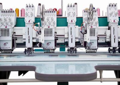 Computerized Embroidery Machine with Sequin and Coiling attachment (Компьютеризированная вышивальная машина с Sequin и намотки вложения)