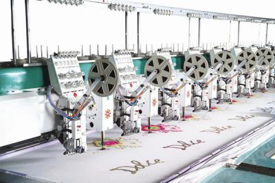 embroidery machine with sequin %26 chenelli attachment (вышивальная машина с 26% блесток chenelli вложения)