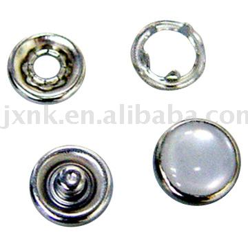 five prong snap button with pearl cap (пять зубец кнопки Snap с жемчугом шапку)