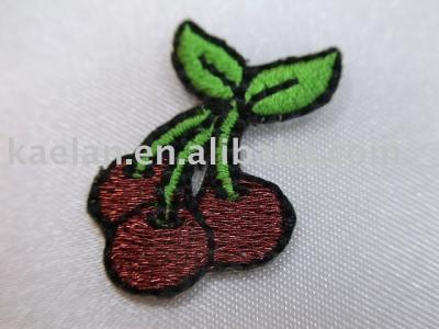 (71082)Cheery Embroidered badge