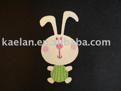 (71301)Rabbit Embroidered badge