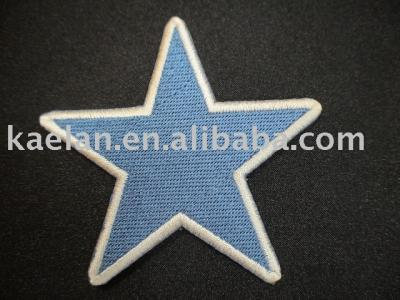 (71131A) Star Embroidered badge ((71131A) Star Вышитый знак)