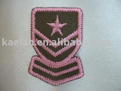 (71083) Embroidered badge