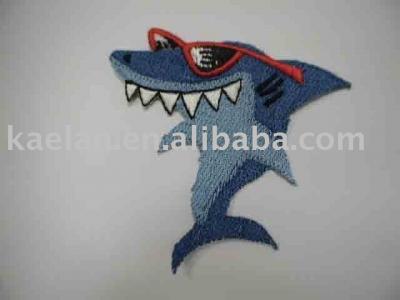 f3150b920fc6 Shark écusson brodé (shark Embroidered badge)