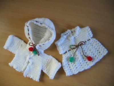 Чепчики для новорождённых вязанные крючком