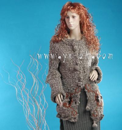 Hand Crochet Sweater (Рука вязание крючком свитер)