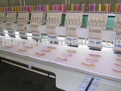 Plain Embroidery Machine (Plain Stickmaschine)