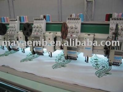 multi color chain stitch embroidery machine (multi color Kettenstich Stickmaschine)